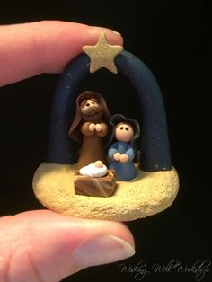 Polymer Clay Miniature Nativity