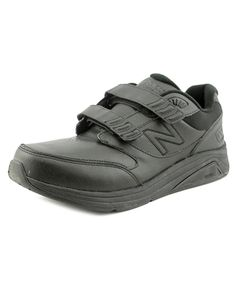 897d8a63f9bd5 NEW BALANCE New Balance Mw928 Men Round Toe Leather Black Walking Shoe .   newbalance  shoes  sneakers