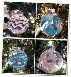 Eenvoudig en mooi zelf kerstballen maken