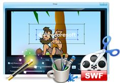 Using swf video converter to add copyright message to your video.