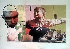embrace, collage, paper A4, 02.11.2014 Kłodzko, more on my website: http://smogor.tv/node/595