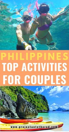 Looking for a cheap island getaway with your boo? This romantic Philippines travel guide reveals all the best budget destinations in the country. From secret beach sunsets in Palawan to couple's adventure activities near Manila, this ultimate list of romantic places to visit and things to do in the Philippines is sure to inspire. #philippines #philippinestravel #philippinesbucketlist #travel #southeastasia #budgettravel #honeymoon #romanticvacation #asia #thephilippines #philippinesbudget