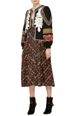 Get inspired and discover Alix of Bohemia trunkshow! Shop the latest Alix of Bohemia collection at Moda Operandi. Tribal Heart, Bohemia Style, T Shirt And Jeans, Boho Fashion, Fall Winter, Cold Shoulder Dress, Jackets, Outfits, Shopping
