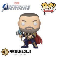 Marvel Avengers Games, Funko Pop Dolls, Pop Vinyl Figures, Disney Marvel, Funko Pop Vinyl, Bobble Head, Black Widow, Thor, Childhood Memories
