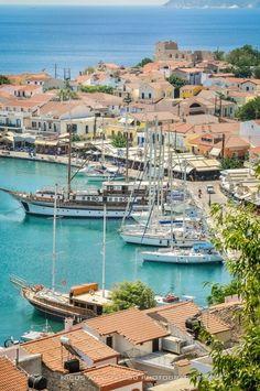 Port of Pythagorion, Samos, Greece