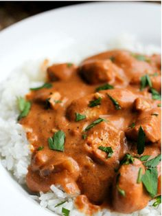 Chicken Tikka Masala Slow Cooker Recipe  (This is something our friend is craving but the challenges are all dairy must be hormone-free, chicken must be as well, and no canned tomatoes)# slow cooker healthy recipes