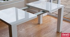 Modern Round Extendable Dining Table | Dining | Pinterest | Large ...