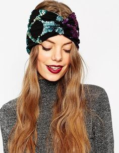 ASOS Ombre Mini Stars Turban Headband