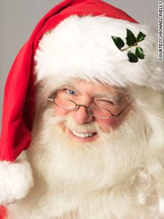 For Michael Rielly, being Santa is a family tradition. His late grandfather, a Santa Claus hall of famer, put on the red suit for 62 years. Christmas Tree Lots, Father Christmas, Christmas Pictures, Christmas Art, Vintage Christmas, Santa Pictures, Christmas Colors, Winter Christmas, Christmas Ideas