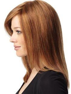 Straight Lightness Lace Front Human Hair