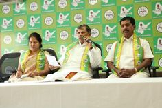 Dr. Thulasi Reddy, General Secretary, JSP, Official Spokes persons Dr. S.Sudha Rani, K.Satyanarayana also along with him