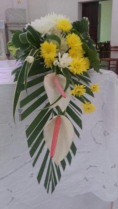Church Flower Arrangements, Floral Arrangements, Altar, Deco Floral, Creativity, Table Decorations, Flowers, Plants, Home Decor
