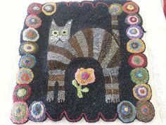 Inspiration for a penny rug...<3