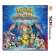 Pokemon Super Mystery Dungeon for Nintendo 3DS, Multicolor