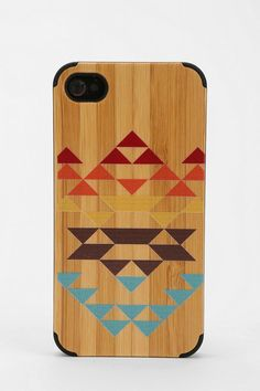 Painted Wood iPhone 4/4s Case #urbanoutfitters