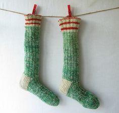 love these socks.  http://www.etsy.com/listing/85494331/vintage-christmas-stockings