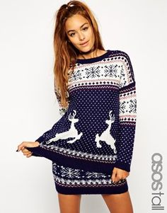 cute sweater | My style | Pinterest | Deer pattern, Rounding and ...