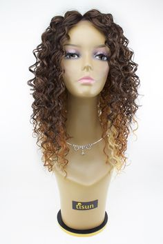 - Description - Qualities - How to Style - Pricing Rock out with some beautiful curls with the Sensationnel Empress Synthetic Lace Wig Bohemian. This synthetic unit offers a great natural look, along Jet Black Hair Dye, Black Wig, Short Hair Wigs, Human Hair Wigs, Curly Hair, Synthetic Lace Front Wigs, Synthetic Hair, Afro Caribbean Hair, Weave Hairstyles