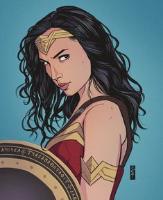 Diana, Princess of Themyscira 💫 . Wonder Woman Fan Art, Wonder Woman Drawing, Gal Gadot, Wonder Woman Pictures, Harley Queen, Wander Woman, Arte Dc Comics, Dc Comics Characters, Dc Heroes