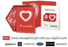 Send a thoughtful Valentine's Day gift card online via Punchbowl