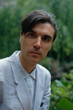 Singer David Byrne of Talking Heads