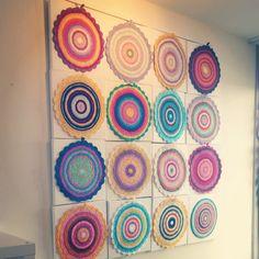 #crochet mandalas by wink