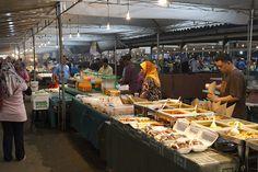 Brunei night market Borneo, Bandar Seri Begawan, Southeast Asia, Beautiful World, Landscapes, Asian, Country, Night, Travel