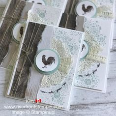 Stampin' Up! Wood Words