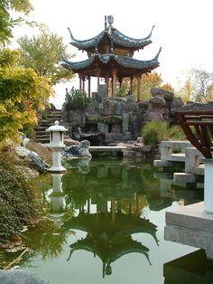 chinesischer garten | modern decor | pinterest | garten, Garten Ideen