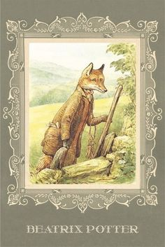 All pictures are actual, you receive what you see. Beatrix Potter Illustrations, Beatrice Potter, Peter Rabbit And Friends, Benjamin Bunny, Cicely Mary Barker, Fox Art, Whimsical Art, Pictures To Paint, Alice In Wonderland