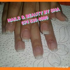 Clear acrylic Clear Acrylic, Nails, Beauty, Finger Nails, Ongles, Beauty Illustration, Nail, Nail Manicure