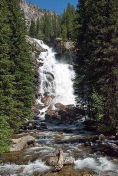 Hidden Falls, Grand Teton National Park