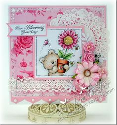 Blooming Lovely from Lili of the Valley (LOTV) stamps.