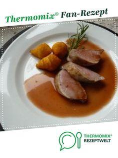 Schweinefilet mit Rosmarin-Honig von Kallewirsch. Ein Thermomix ® Rezept aus der Kategorie Hauptgerichte mit Fleisch auf www.rezeptwelt.de, der Thermomix ® Community.