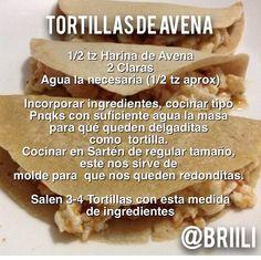 Tortillas de Avena