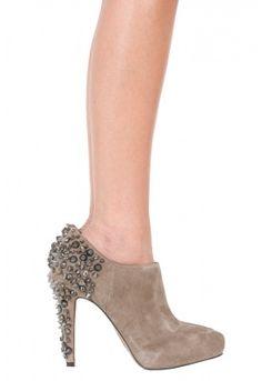 Sam Edelman renzo bootie in 2 colors  #stiletto #ankle bootie #suede #spikes #studs #rhinestones #shoes #heels