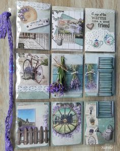 Pocket Pal, Pocket Cards, Scrapbook Paper Flowers, Scrapbook Cards, Inchies, Round Robin, Provence, Pocket Scrapbooking, Scrapbooking Layouts