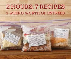 It's time to stop worrying about dinner. Grab some friends and create a week's worth of entrées in a couple hours at one of our Freezer Meal Workshops. You bring the groceries; I'll bring the tools and the mouth-watering menu. Contact me today to learn more.  www.pamperedchef.biz/JenGrimes,  Jen Grimes, Independent Consultant with The Pampered Chef, Schaumburg, IL