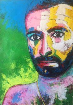 EL NIETO DE PANCHO: ESCRIBIR A MANO Joker, Painting, Fictional Characters, Art, Hands, Paintings, Art Background, Jokers, Painting Art