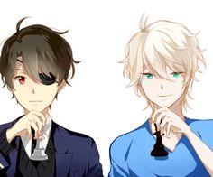 Aldnoah ZERO- Slaine and Inaho #Anime