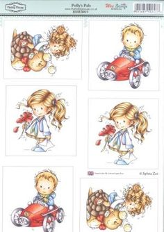 stansvel Polly`s Pals Elisabeth Bell toppers