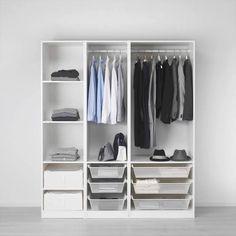 IKEA PAX, Kleiderschrank, 175.0x201.2x58.0 cm, weiß
