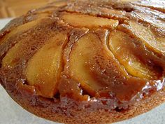Apple Spice Upside-Down Cake