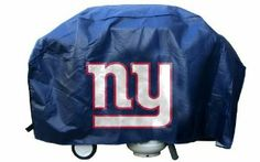 NFL New York Giants 68-Inch Grill Cover by Rico. $17.32. Velcro straps stay strapped to the grill on windy days. Vinyl barbecue grill cover printed with team logo on front and back. Vinyl. At 67x21x35, fits most large gas grills. Quality vinyl 10 mil thick will withstand the elements. NFL New York Giants Economy Grill Cover. Save 31%!