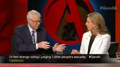Politician challenged on marriage equality on TV by her gay brother