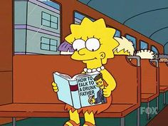 simpsons, book, and cartoon image Homer Simpson, Joe Cool, Memes, Lisa S, Daddy Issues, Futurama, The Simpsons, Worlds Of Fun, What Is Like
