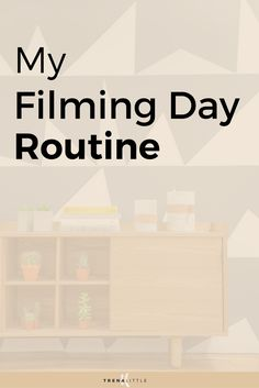 My Youtube filming day routine.  How I film 8 videos in one day for my business Youtube channel!
