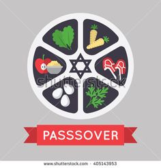 Passover  illustration. EPS 10 - stock vector