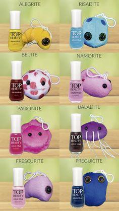 Coleção Color Vírus - Top Beauty - Swatches. | Moda na Mão