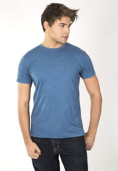 """Men's classic fit crew 50/50. 30's 50% Cotton 50% Poyester combed ring spun pre-shrunk reactive garment dyed and enzyme washed for softness. Use Promo Code """" JSFRIENDS """" during purchase and get 20% off. www.jsapparel.net All JS Apparel garments made in USA."""
